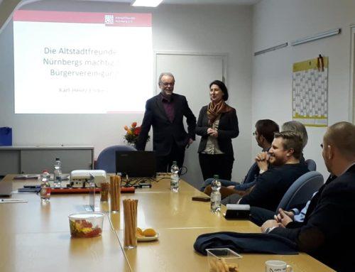 FDP Nürnberg unterstützt Idee der Altstadtfreunde