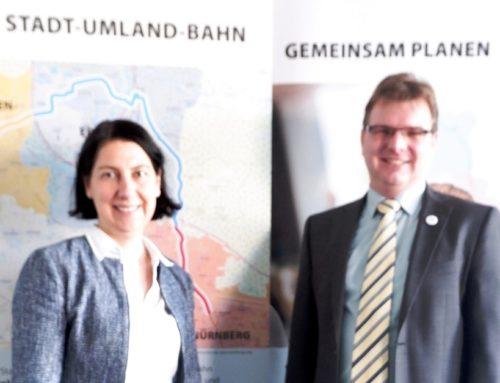 Katja Hessel zu Besuch beim Zweckverband Stadt-Umland-Bahn Nürnberg – Erlangen – Herzogenaurach