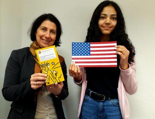 Ein Jahr in den USA: 15-jährige Nürnbergerin wird Juniorbotschafterin