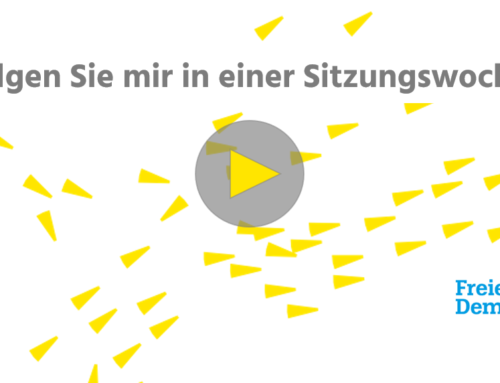 Meine Sitzungswoche im Bundestag