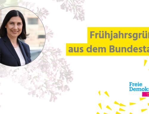 Newsletter: Frühjahrsgrüße aus dem Bundestag