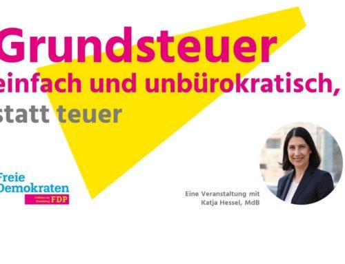 Passauer Neue Presse(PNP): Katja Hessel spricht zur Grundsteuerreform