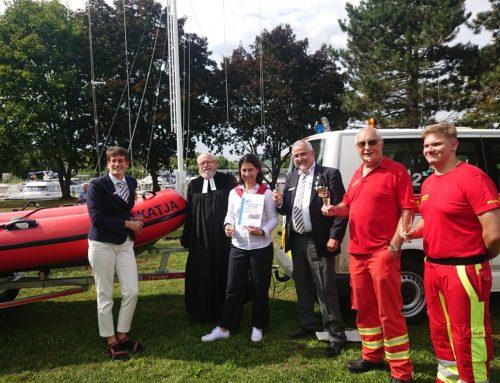 Katja Hessel übernimmt Patenschaft für Rettungsboot